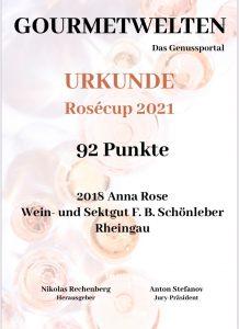 Gourmetwelten Rosécup 2021: Top Ten der besten Rosésekte